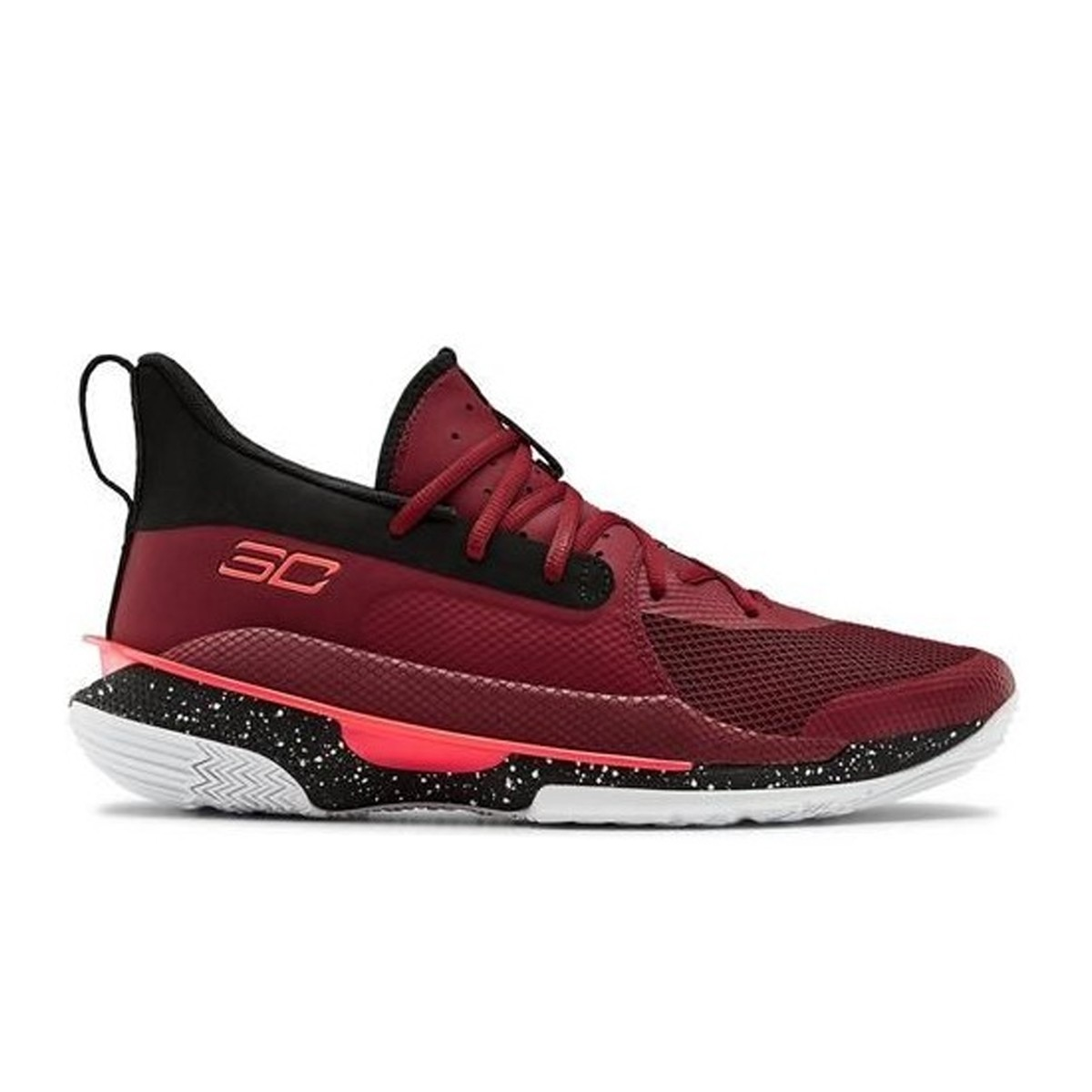 Under Armour Curry 7 'Red Cordova'-3021258-605