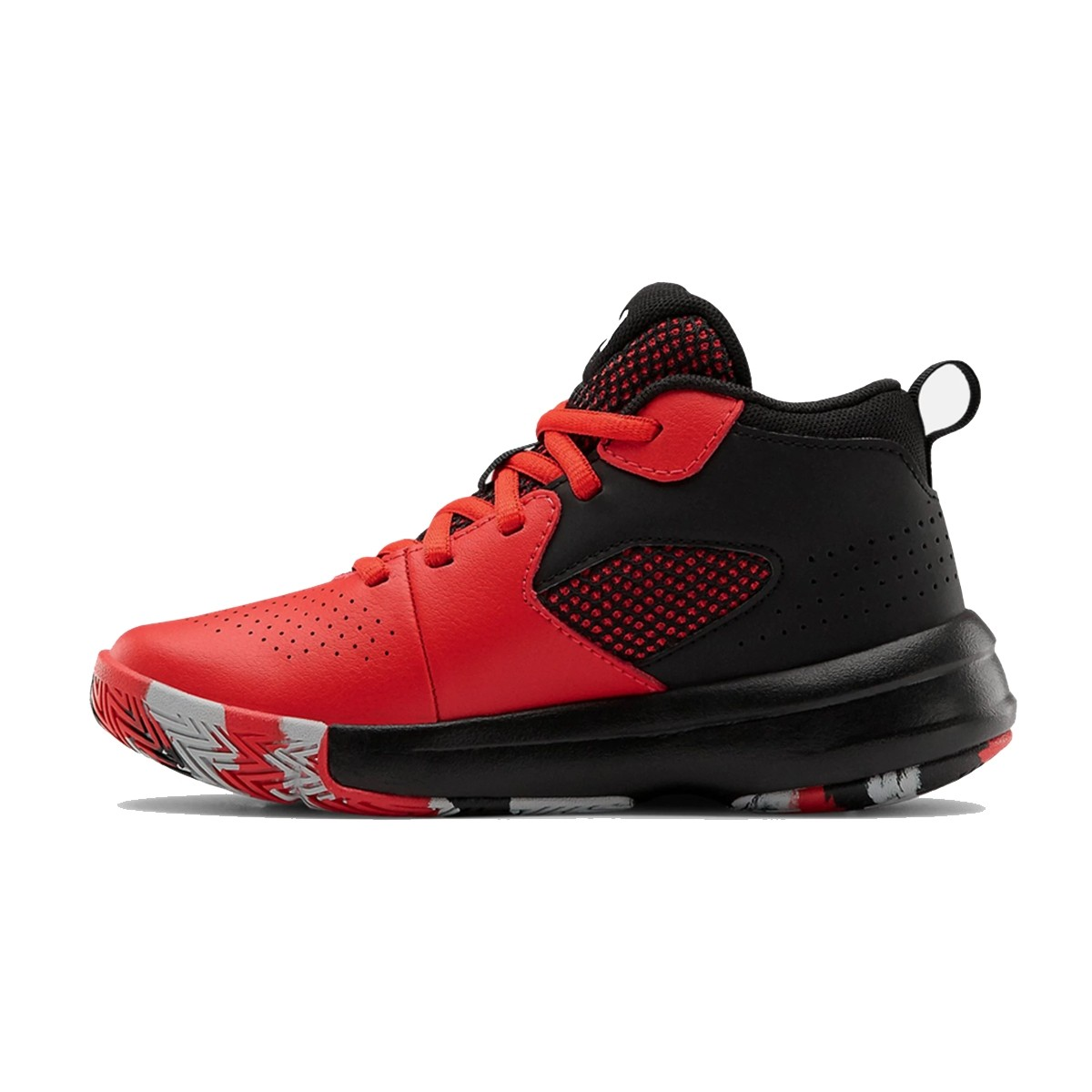 Under Armour PS Lockdown 5 'Bred'-3023534-601