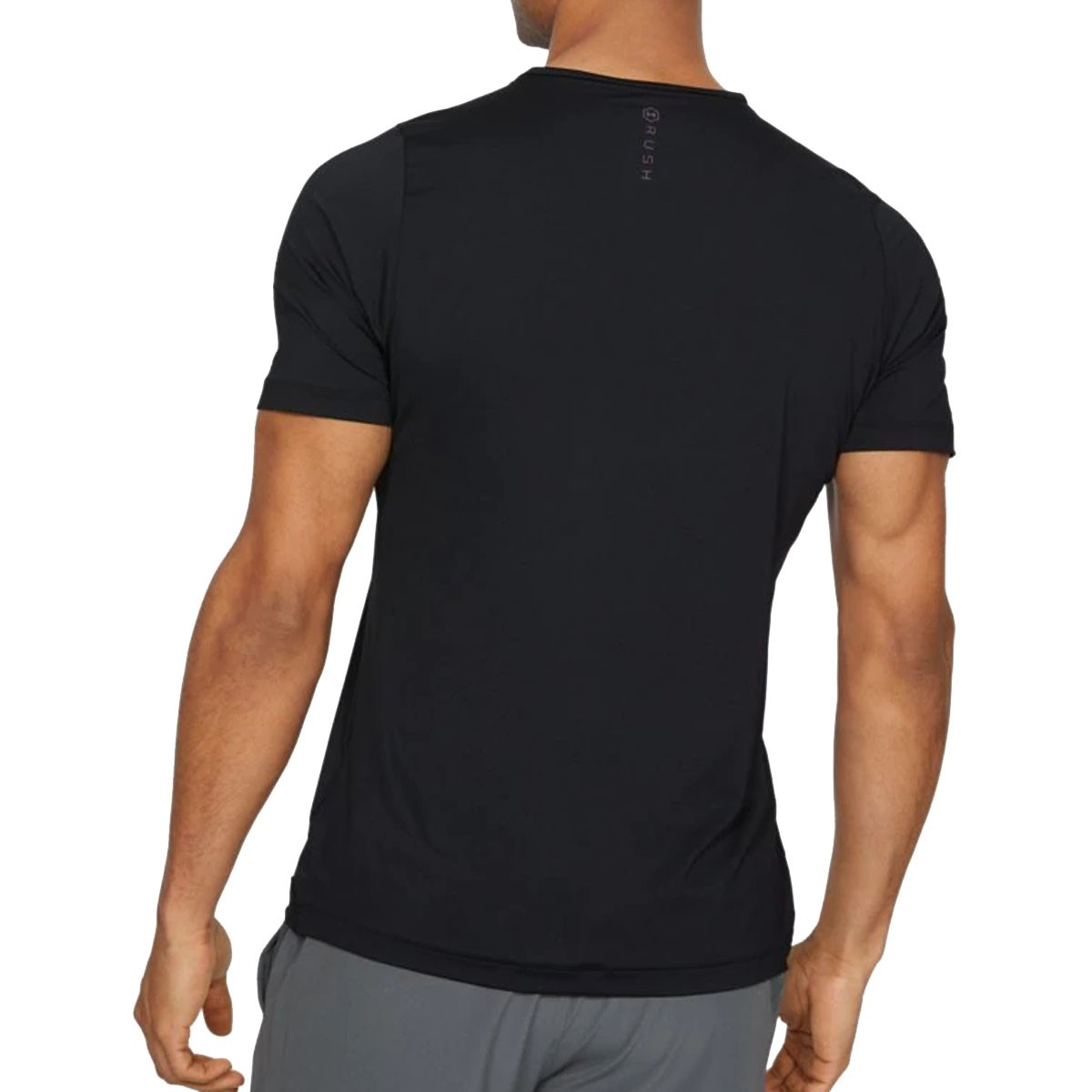 Under Armour  Rush Fitted T-shirt 'Black'-1327641-001