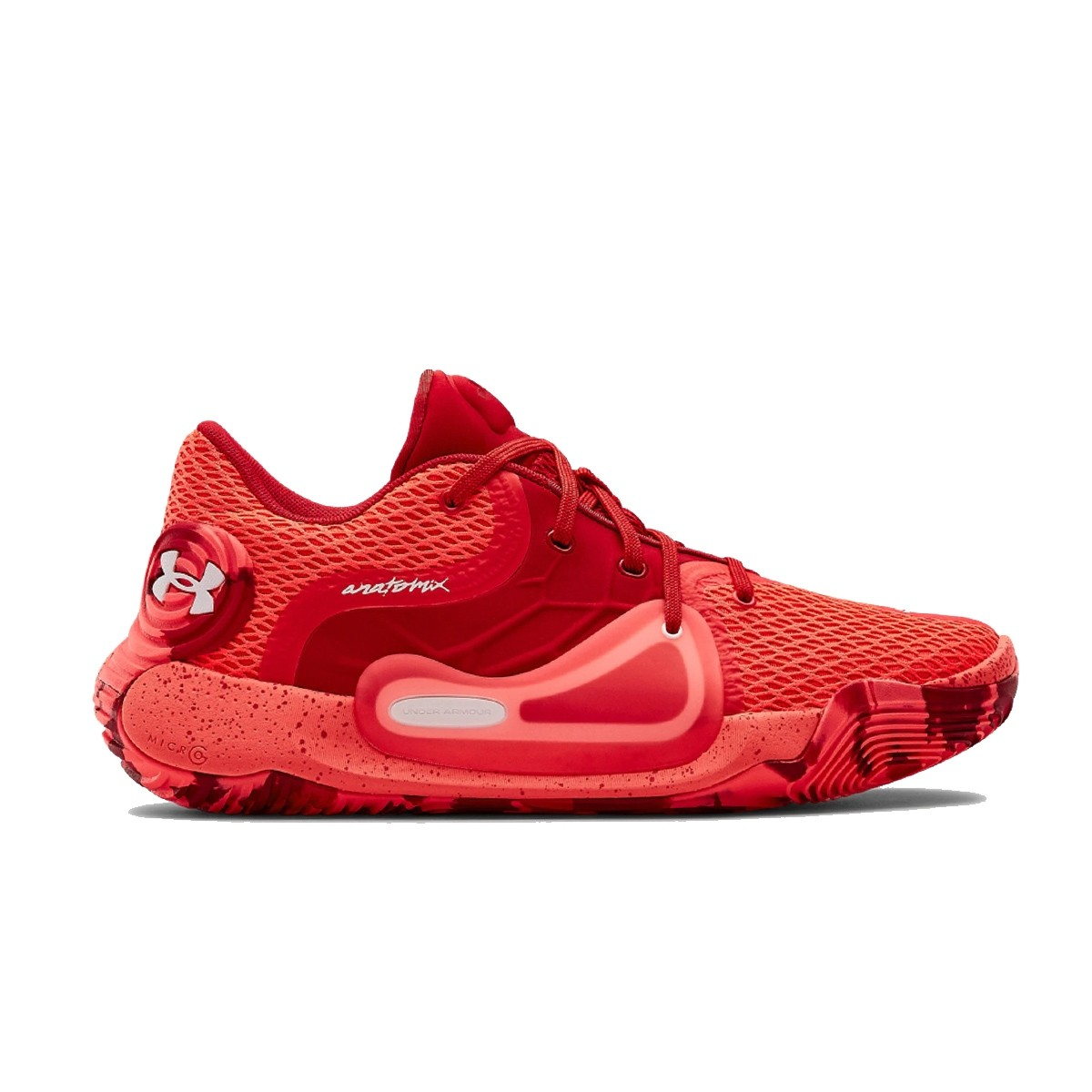 UA Spawn Low II Jr 'Flash Crimson'