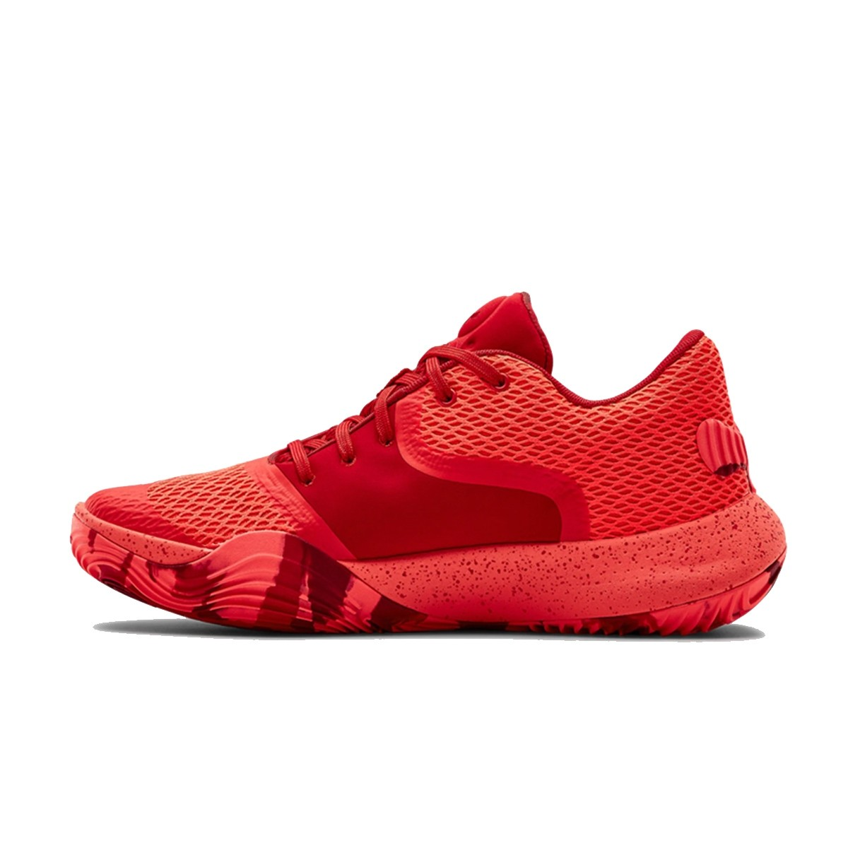Under Armour Spawn Low II jr 'Flash Crimson'-3022626-602-jr