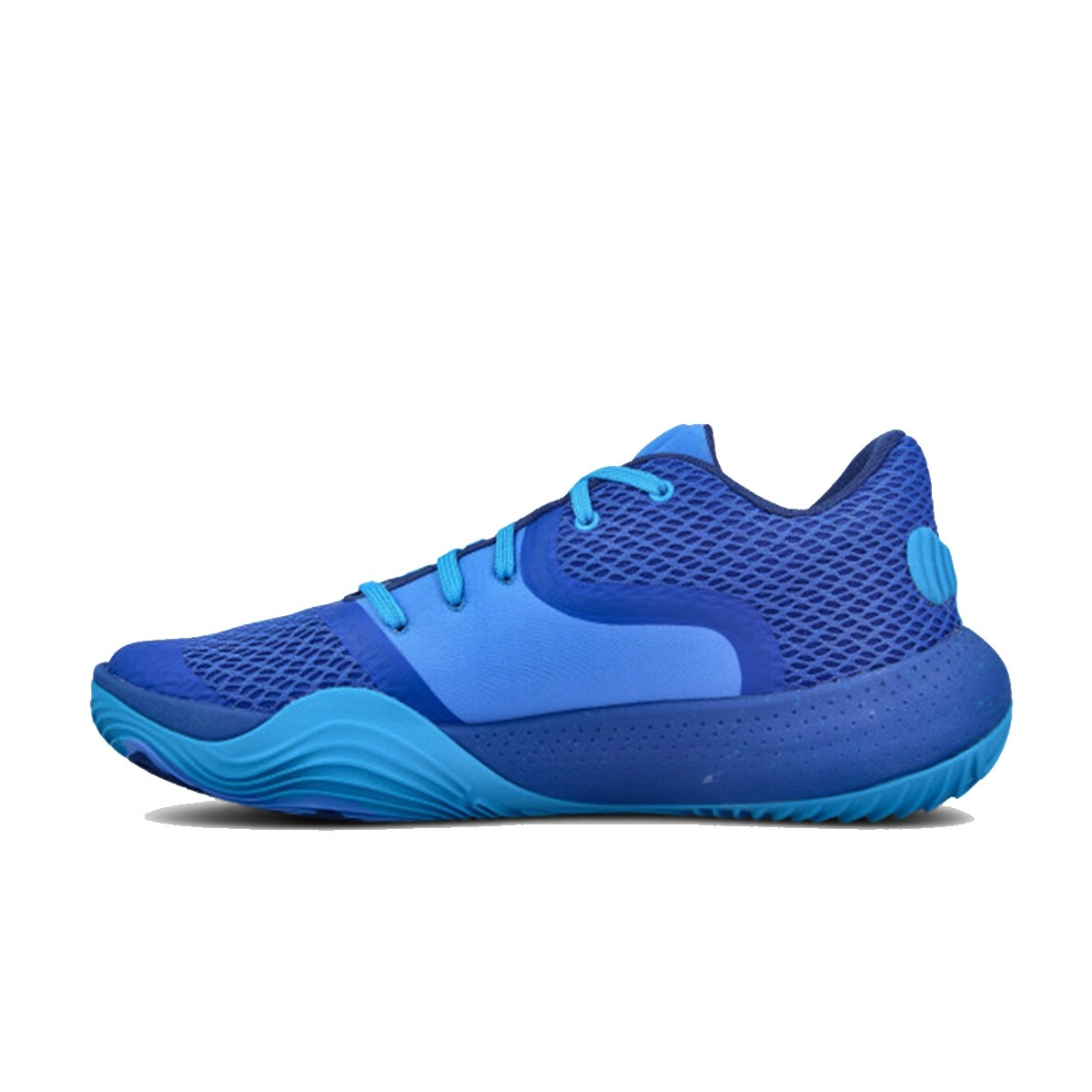 Under Armour Spawn Low II Jr 'Chaos Water'-3022626-403-jr