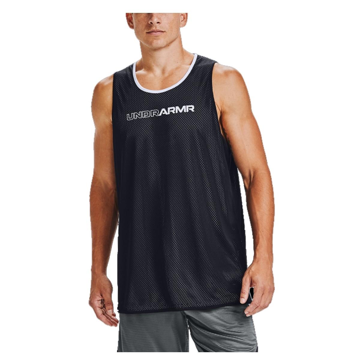 Camiseta UA Tank Top Baseline Reversible 'Black'