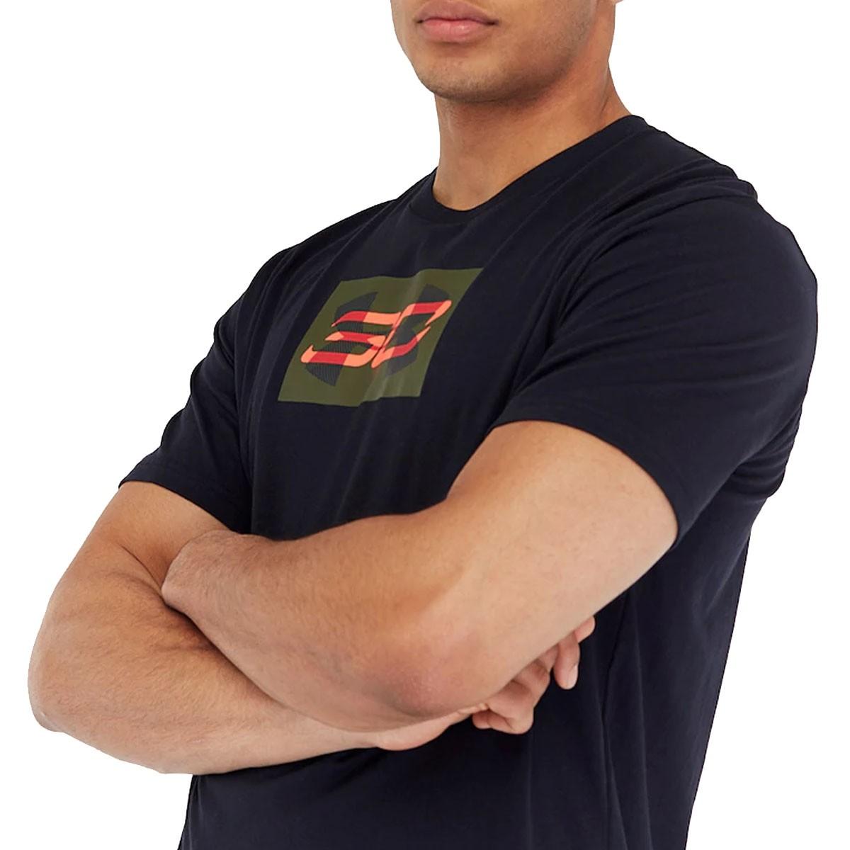 Under Armour SC30 Overlay Short Sleeve T-Shirt 'Black' 1342987-001
