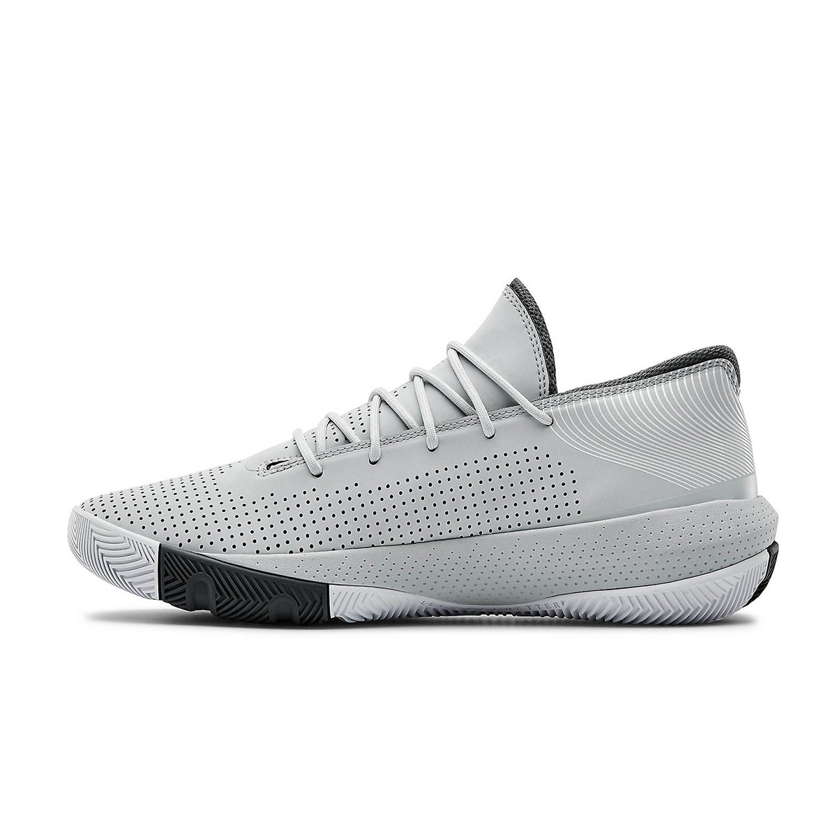 Under Armour SC 3ZER0 III GS 'Light Grey'-3022048-103-Jr