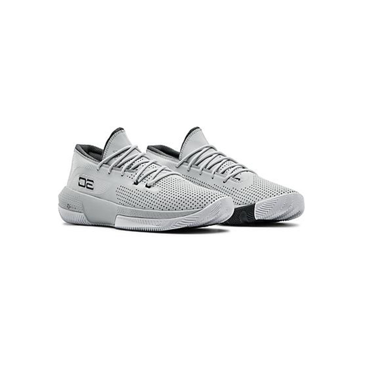 Under Armour SC 3ZER0 III 'Light Grey'-3022048-103