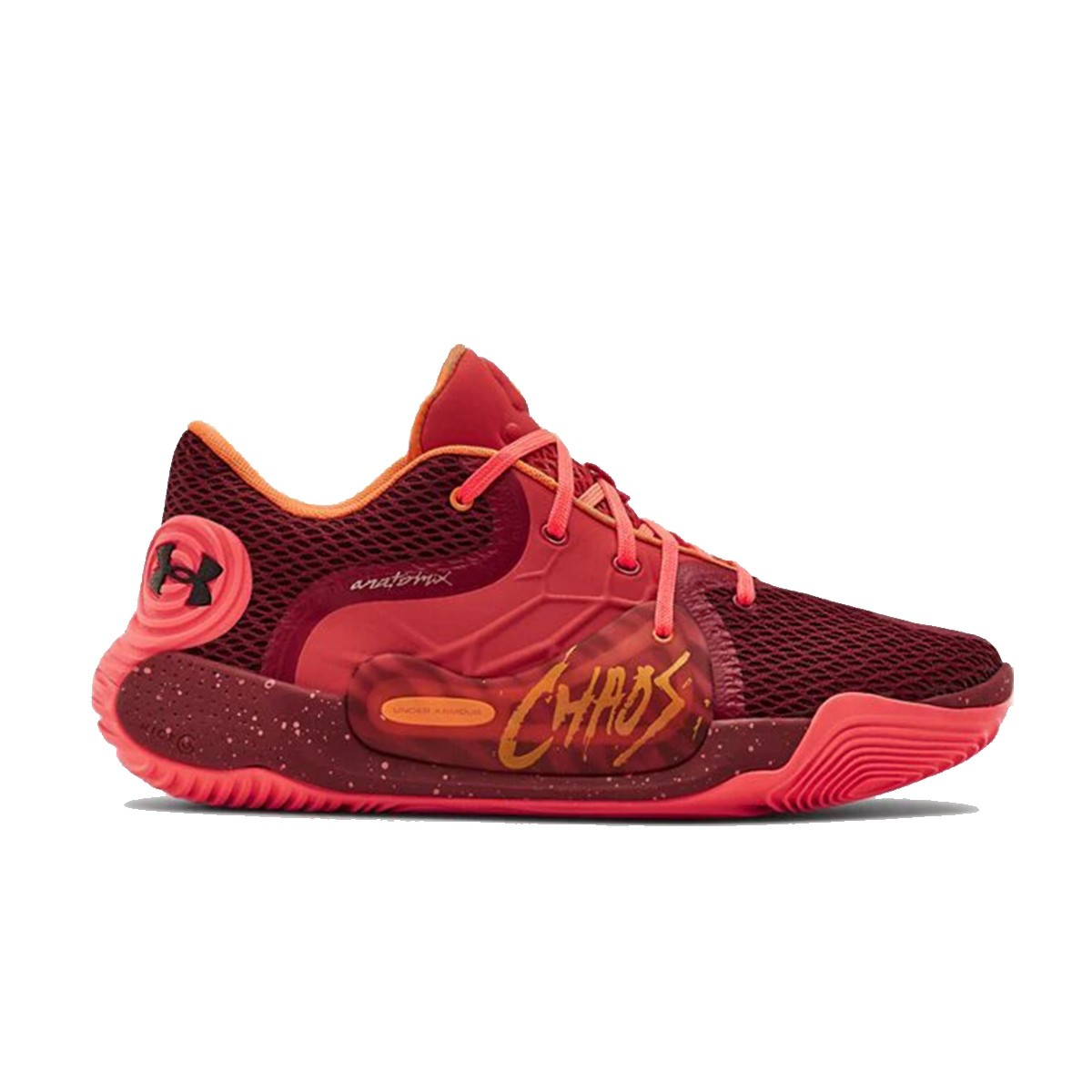 Under Armour Spawn Low II Jr 'Chaos Fire'-3022626-600-Jr
