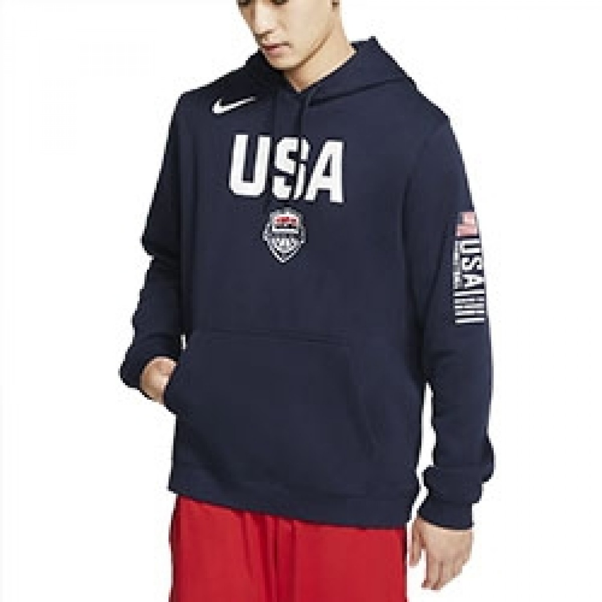 USA Nike Club Fleece 'Navy'