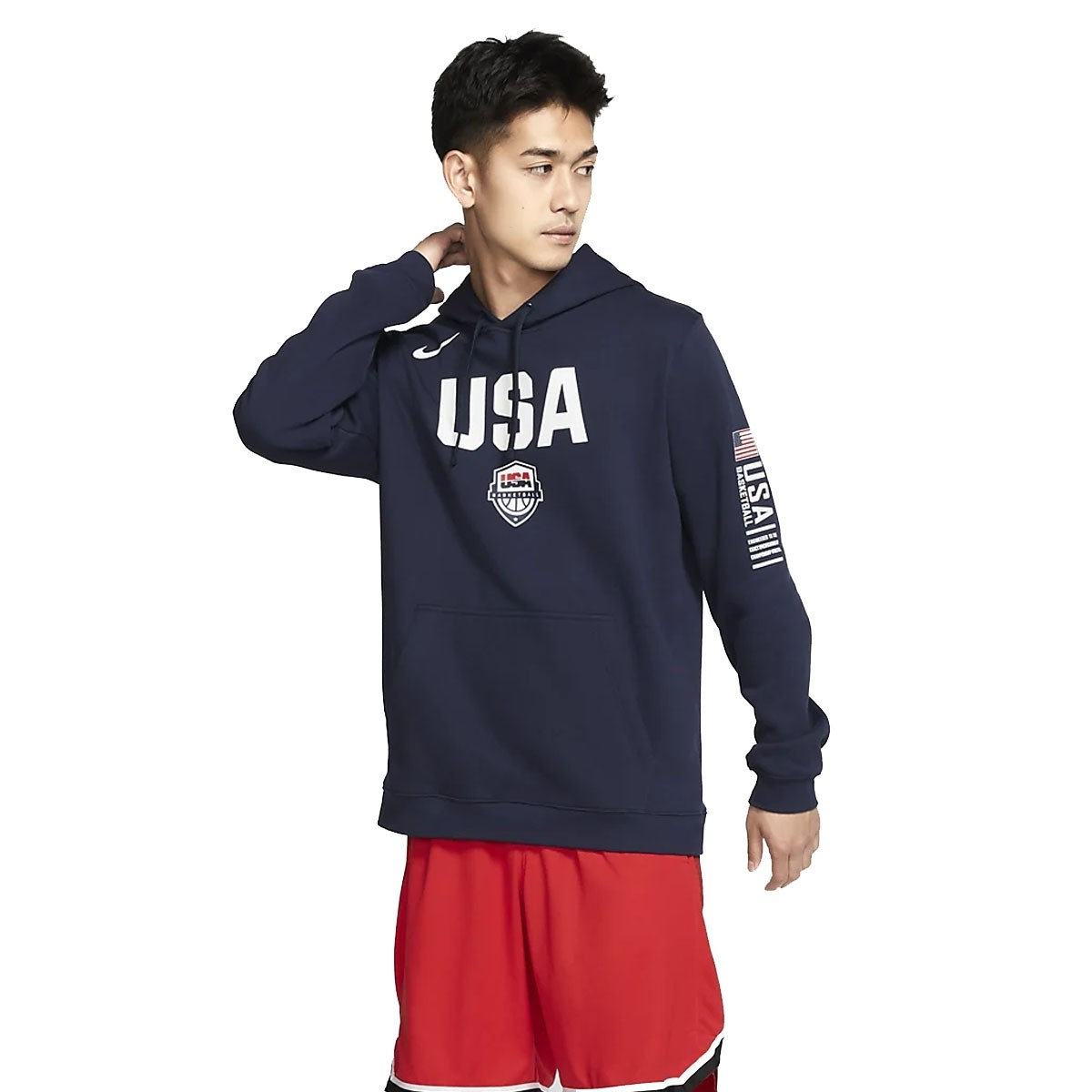 USA Nike Club Fleece 'Navy' CJ6194-451