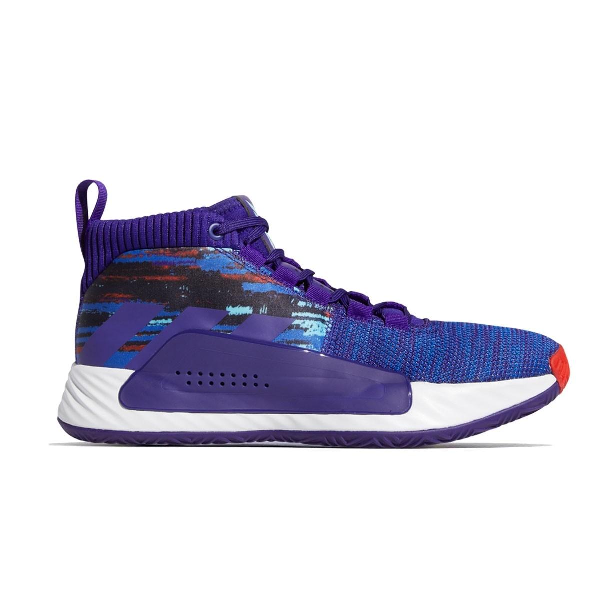 ADIDAS Dame 5 Jr 'Purple Royal'