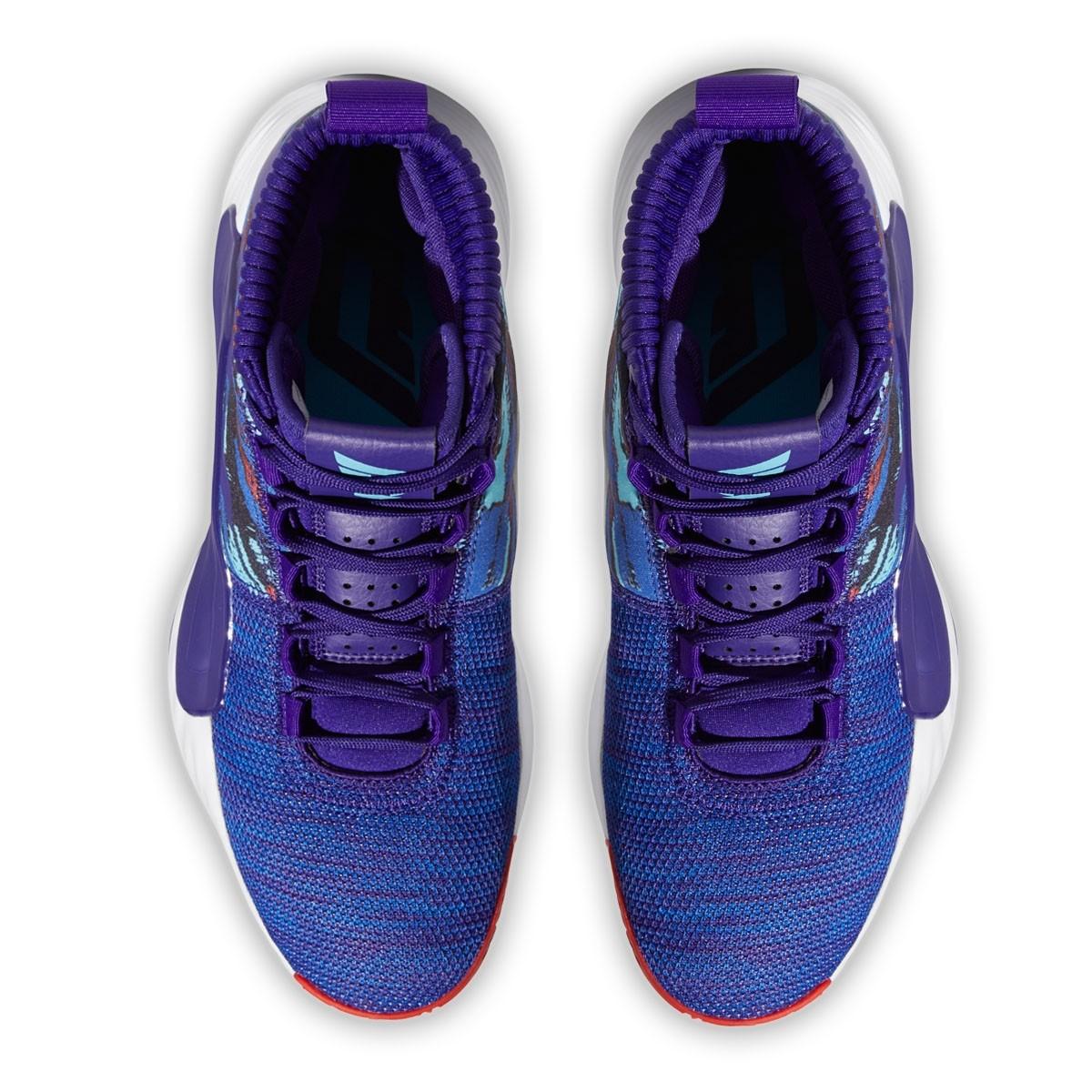 ADIDAS Dame 5 Jr 'Purple Royal'EF0500-Jr