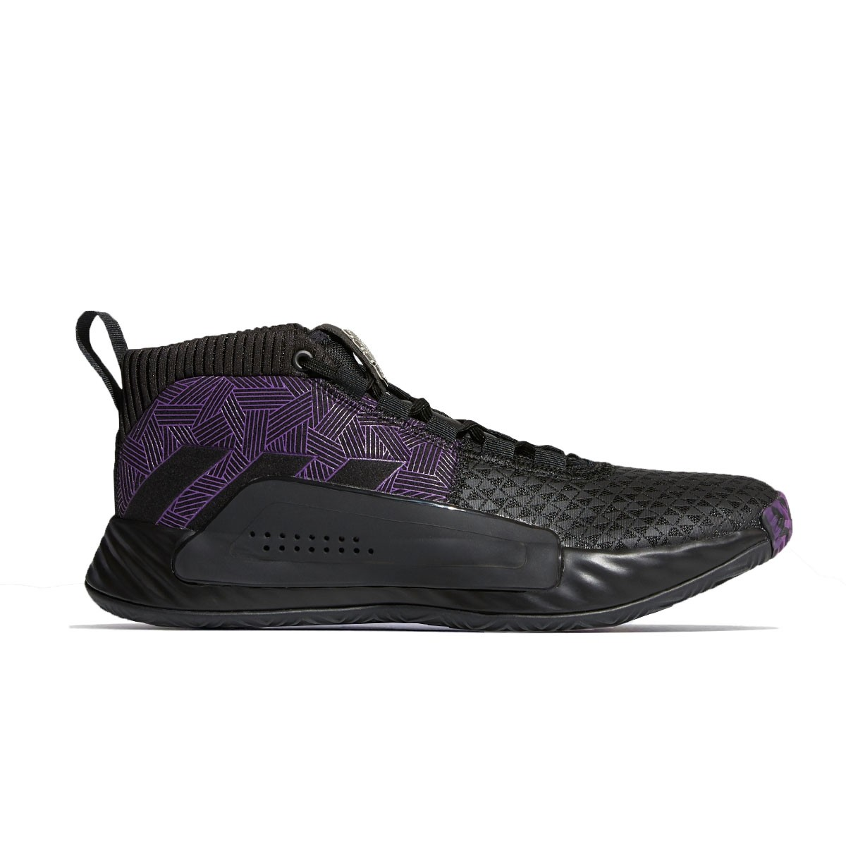 ADIDAS Dame 5 Jr 'Black Panther'