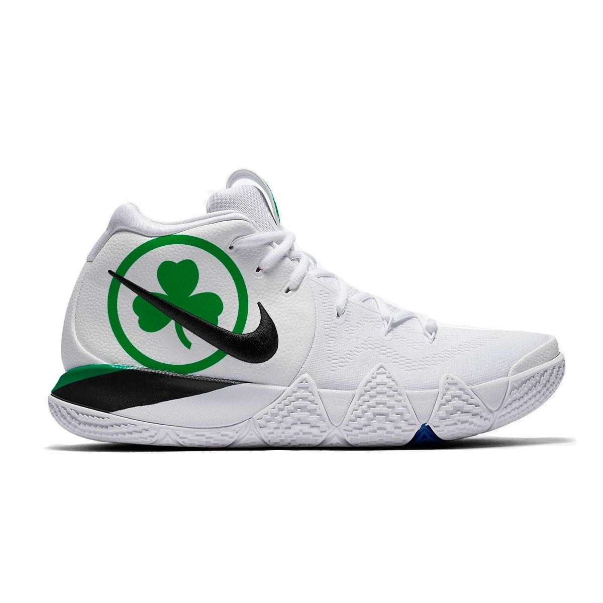 Nike Kyrie 4 'Celtics Pride Custom' X MelonKicks