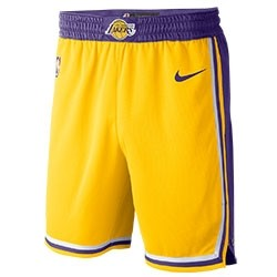 Nike NBA Lakers Swingman Short 'Icon Edition'