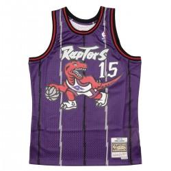 Mitchell & Ness Vince Carter Swingman Jersey Road 'Raptors' SMJYGS18214