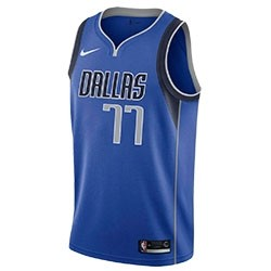 Nike Junior NBA Dallas Swingman Doncic Jersey 'Icon Edition'
