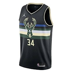 Jordan Jr NBA Milwaukee Bucks Swingman Jersey Antetokounmpo 'Statement Edition'