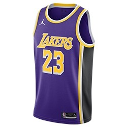 Jordan NBA Los Angeles Lakers Swingman Jersey LeBron James 'Statement Edition'