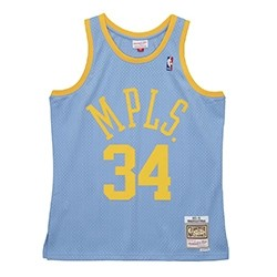 Mitchell & Ness Swingman Jersey MPLS Shaquille Oneal '2001-02'