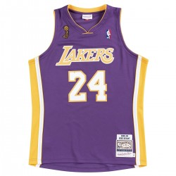 Mitchell & Ness Authentic Jersey L.A. Lakers Road Kobe Bryant '2008-09 Finals'