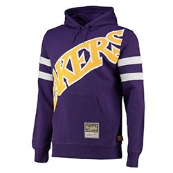 Mitchell & Ness Substantial Fleece Hoodie 'Lakers'