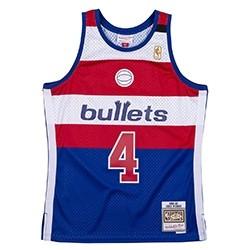 Mitchell & Ness Swingman Jersey Bullets Webber '1996-97'
