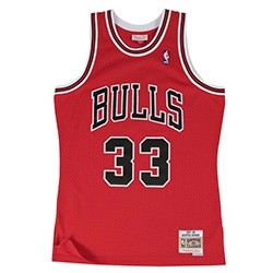 Mitchell & Ness Swingman Jersey Bulls Pippen Road '1997-98'