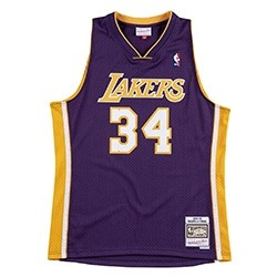 Mitchell & Ness Swingman Jersey Los Angeles Lakers 1999-00 'Shaquille O'Neal'