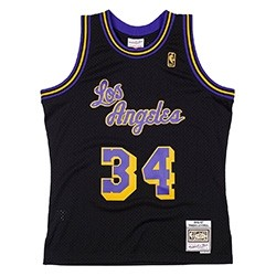 Mitchell & Ness Swingman Jersey Los Angeles Lakers Reload 'O`Neal'