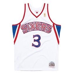 Mitchell & Ness Swingman Jersey Philadelphia 76ers Allen Iverson '1996-97'