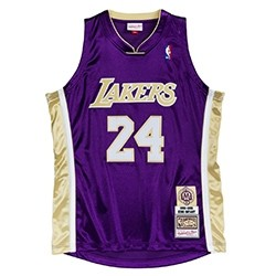 Mitchell & Ness Authentic HOF #24 Kobe Bryant Los Angeles Lakers '1996-2016'