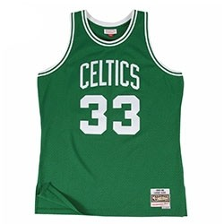 Mitchell & Ness Larry Bird Swigman Away 'Celtics'