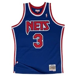 Mitchell & Ness Petrovic Swingman Jersey Away 'Nets'