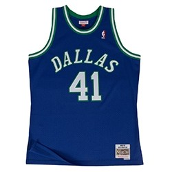 Mitchell & Ness Swingman Jersey Dallas Mavericks Dirk Nowitzki '1998-99'