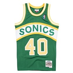 Mitchell & Ness Swingman Jersey Seattle SuperSonics Shawn Kemp '1994-95'