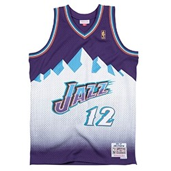Mitchell & Ness Swingman Jersey Utah Jazz John Stockton '1996-97'
