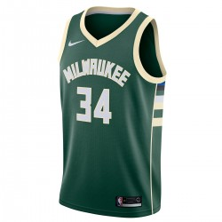 Nike Junior NBA MB Swingman Jersey Antetokounmpo 'Icon Edition'