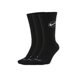 Calcetines Nike Everyday Crew Pack-3 'Black'