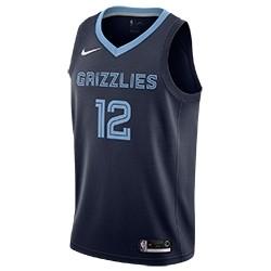 Nike Jr NBA Memphis Grizzlies Swingman Jersey Ja Morant 'Icon Edition'