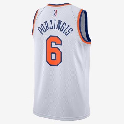 Nike NBA Knicks Swingman Kristaps Porzingis 'Association Edition' 864435-100
