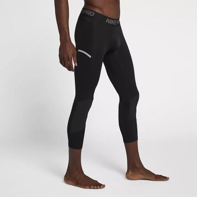 Nike Pro Dri-FIT Thigh 3/4 'Black' 925821-010