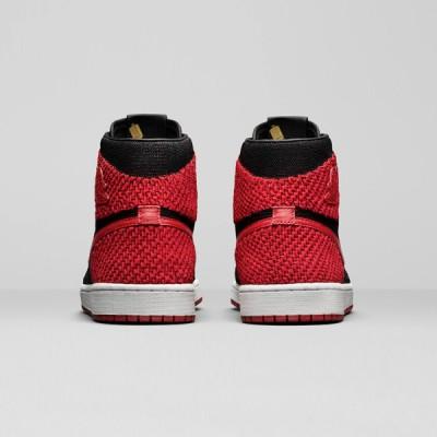 Air Jordan 1 Retro High Flyknit 'Bred' 919704-001