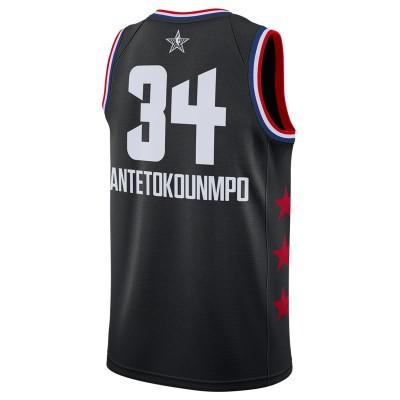 Jordan Swigman Jersey All-Star Antetokounmpo edition 'Black' AQ7295-010