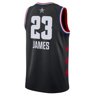 Jordan Swigman Jersey All-Star James Edition 'Black' AQ7295-017
