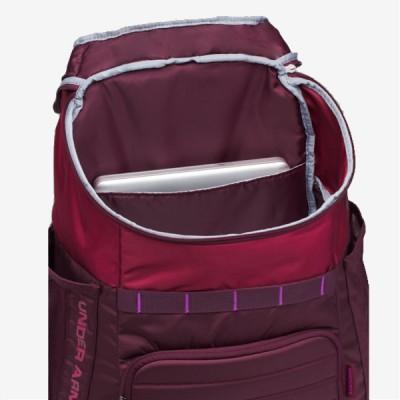 UA Backpack SC30 'Burgundy' 1294712-923