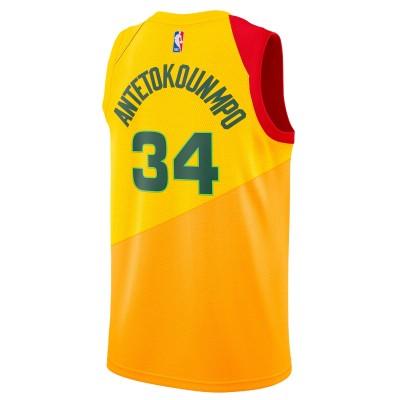 Nike Junior NBA MB Swingman Jersey Antetokounmpo 'City Edition' EZ2B7B1BP-MBGAC