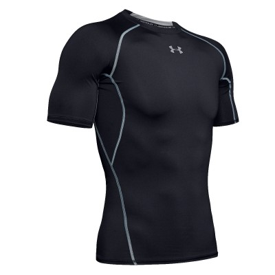 Camiseta Compresión Training HeatGear 'Black'-1257468-001