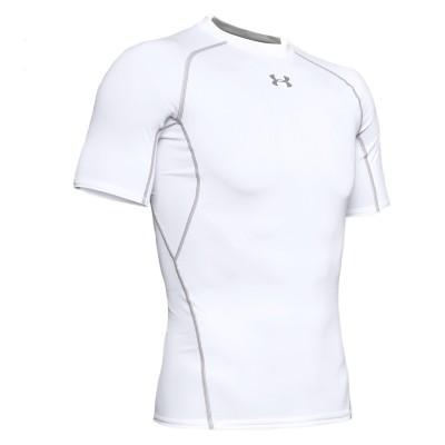 Camiseta Compresión Training HeatGear 'White'-1257468-100