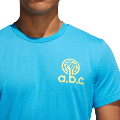 ADIDAS A.B.C T-shirt 'Blue' DX1328