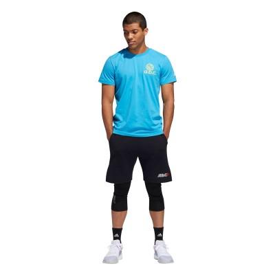ADIDAS A.B.C T-shirt 'Blue' DX1328